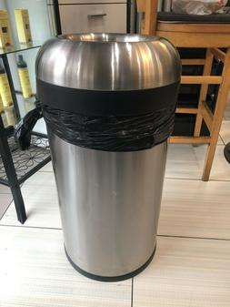 20 gallon Simplehuman stainless steel garbage cans.