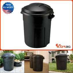 Rubbermaid 20 Gallon Trash Can With Lid Kitchen Simple Garba
