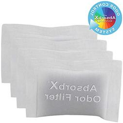 iTouchless 4-Pack AbsorbX Deodorizers Absorbs, Natural Activ