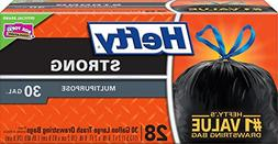 Hefty Extra Strong, Multipurpose 30 gallon, 28 Large Trash D