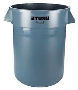 Rubbermaid Commercial BRUTE Heavy-Duty Round Waste/Utility C