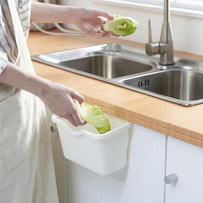 hanging kitchen wastebaskets trash container recycle waste