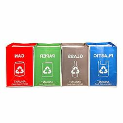 Recycling Waste Bin Bags Kitchen Office Recycle Garbage Tras